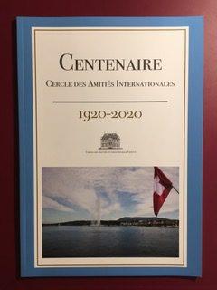 Invitation, Centenaire du Cercle des Amitiés Internationales