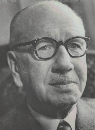 Alfred Nicole, membre du Comité fondateur du Cercle en tant qu'éditeur du journal La Suisse, puis Président du Cercle (1923-1925)